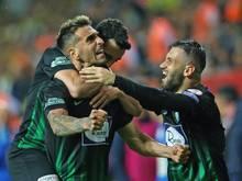 Akhisar Belediyespor ist türkischer Pokalsieger