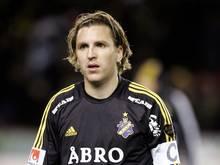 Nils-Eric Johansson absolvierte 366 Spiele für AIK Solna