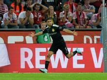 Dortmunds Joker Achraf Hakimi traf zum 2:1 für den BVB