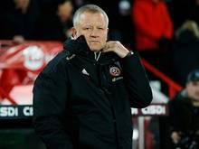 Chris Wilder ist nicht mehr Trainer von Sheffield United