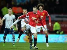 Wayne Rooney traf per Straßstoß zum 3:1
