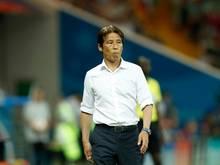 Zweifelt an seiner Taktik: Japan-Trainer Akira Nishino