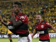 Flamengos Henrique spielte 2016/17 in Wolfsburg