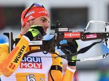 Arnd Peiffer erreichte in Antholz Rang fünf