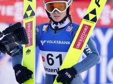 Podest verpasst: Katharina Althaus und das deutsche Team