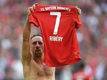 """Ribery: """"Der Film ist noch nicht beendet."""""""