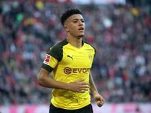 Steht gegen Mönchengladbach nicht im Kader: Jadon Sancho
