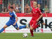 Clemens Schoppenhauer (r.) wechselt zum Chemnitzer FC