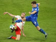 Hoffenheims Christoph Baumgartner (r.) bangt um die EM