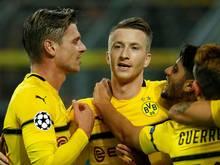 Der BVB empfängt im Abendspiel Werder Bremen