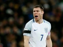 Beendet seine Nationalmannschaftskarriere: James Milner