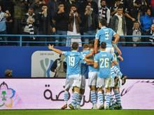 Lazio Rom gewinnt das Supercoppa-Finale gegen Juventus