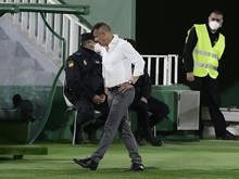 Trainer Jorge Almirón war mit Elche 16 Spiele sieglos