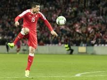 Blerim Dzemaili gelang das goldene Tor für die Schweiz