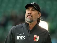 Martin Schmidt sieht einen positiven Trend beim FC Augsburg