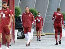 Die Mannschaften in Italien trainieren wieder