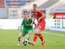Zwangspause für Felix Klaus von Fortuna Düsseldorf