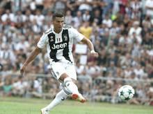 Cristiano Ronaldo erzielt die Führung gegen die U23