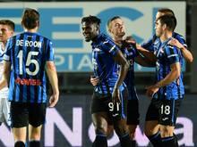 Zapata (M.) trifft für Atalanta Bergamo