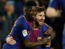 FC Barcelona: Dembélé und Messi können spielen