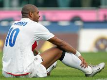 Adriano 2009 bei Inter Mailand