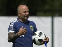 Jorge Sampaoli hält einen Messi-Rücktritt für ausgeschlossen