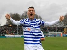 Petar Sliskovic traf zum 1:0 für den MSV Duisburg