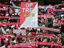 Vor dem Spiel gegen den HSV wurden 80 FC-Fans festgesetzt