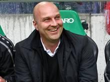 Dirk Dufner hat Vertrauen in Neu-Profis Anton und Bähre