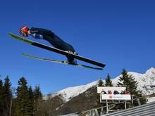 Die deutschen Skispringerinnen verpassen eine Medaille