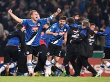 Arminia Bielefeld siebter Drittligist im Halbfinale