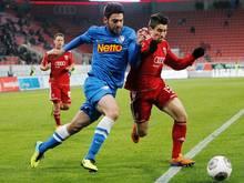 Drei Wochen Pause für Mirkan Aydin (l.) vom VfL Bochum