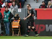 Sven Bender wurde in der ersten Halbzeit ausgewechselt