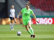 Dominique Janssen  sichert Wolfsburg den Ausgleich