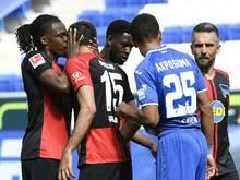 Hertha-Spieler sollen auf Abstandsregeln achten