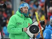 Mark Kirchner war Fahnenträger der Winterspiele 1994