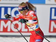 Therese Johaug gewinnt das Weltcup-Rennen in Kuusamo