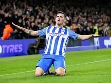 Pascal Groß bleibt Brighton & Hove Albion bis 2022 erhalten
