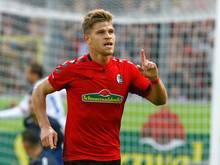 Niederlechner erzielte drei Treffer für den SC Freiburg