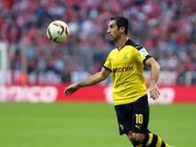 Dortmund gegen Paderborn mit Henrikh Mkhitaryan