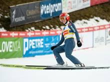 Katharina Althaus springt in Lillehammer auf Rang sechs