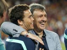 Levante hat Joan Francesc Ferrer (l.) verpflichtet