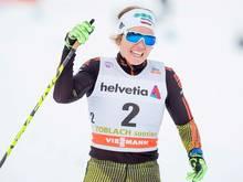 Sandra Ringwald fährt in Cogne aufs Podest