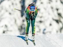 Franziska Preuß holt ihren ersten Weltcup-Sieg