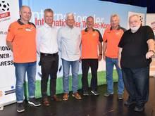 Das BDFL-Präsidium um Lutz Hangartner (3. von links)