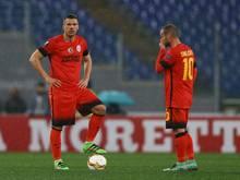 Podolski hat mit Galatasaray einen Rückschlag erlitten