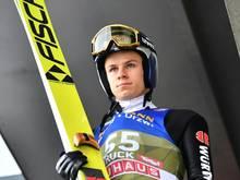 Andreas Wellinger nach Kreuzbandriss zurück im Training