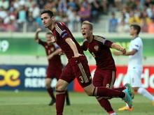 Nikita Chernov und die russische Mannschaft stehen im EM-Finale