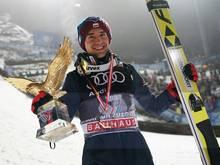 Kamil Stoch ist Polens Sportler des Jahres 2017