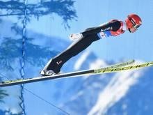 Bester Deutscher nach dem Springen: Terence Weber